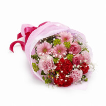 Mother's Day popular hand-tied  with carnations
